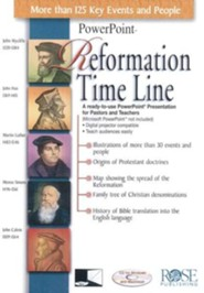 Reformation Time Line PowerPoint® [Download]