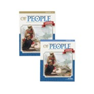 Of People (Grade 7) Teacher Edition Volumes 1 & 2 (5th Editi  on)