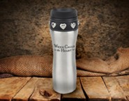 When Calls the Heart: Coffee Bottle (Silver)