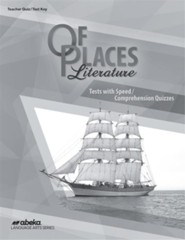 Abeka Of Places Quizzes & Tests Key, 5th Edition (2019), Grade 8