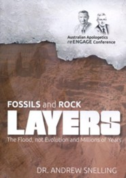 Fossils and Rock Layers: The Flood, not Evolution and Millions of Years DVD
