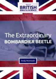 The Extraordinary Bombardier Beetle DVD (Best of  British Bible & Science)