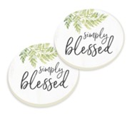 Simply Blessed Car Coasters