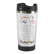 God's Big 10 Stainless Steel Travel Mug