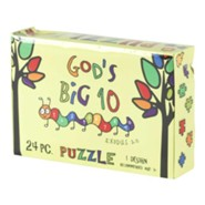 God's Big 10 Puzzle, 24 Pieces