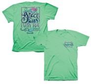 Grace Wins Every Time Shirt, Mint Green, Small