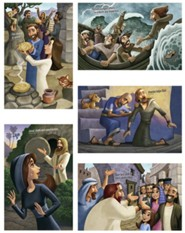 Rocky Railway: Bible Story Posters (set of 5)