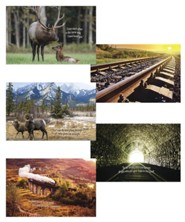 Rocky Railway: Bible Verse Posters (set of 5)