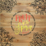 Fruit of the Spirit Wall Plaque