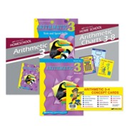 Abeka Grade 3 Arithmetic Parent Kit