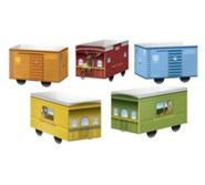 Rocky Railway: Paper Pop-Up Boxcars (pkg. of 10)