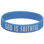 Anchored: God is Faithful Wristband (pkg. of 10)