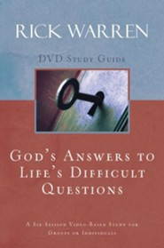 God's Answers to Life's Difficult Questions, Study Guide