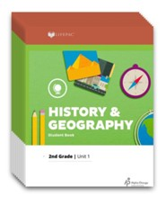 LIFEPAC History & Geography Workbook Set, Grade 2 (2017  Updated Edition)