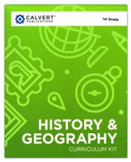 Calvert 1st Grade History & Geography Complete Set