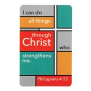 I Can Do All Things Through Christ Pocket Card