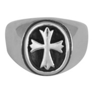 VictoRing Men's Cross Ring, Size 12
