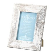 Baptized in Christ Framed Art
