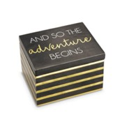 And So the Adventure Begins, Keepsake Box