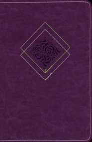 Imitation Leather Purple Book - Slightly Imperfect