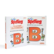 A Reason for Spelling Level B Student Worktext & Teacher  Guidebook Set (2nd Edition)