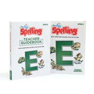 A Reason for Spelling Level E Student Worktext & Teacher  Guidebook Set (2nd Edition)