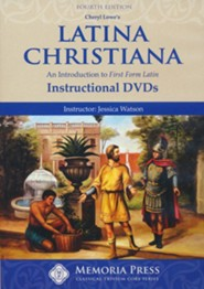 Latina Christiana 1 DVDs, set of 3, Fourth Edition