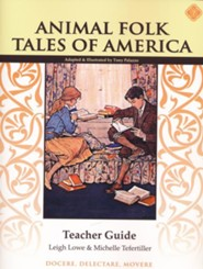Animal Folk Tales of America Teacher Guide, Grade 2
