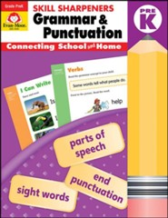 Skill Sharpeners: Grammar and Punctuation, Grade Pre-K