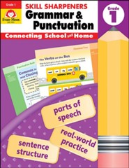 Skill Sharpeners: Grammar & Punctuation, Grade 1