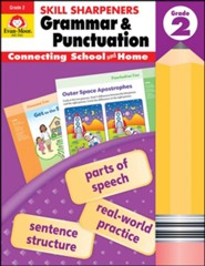 Skill Sharpeners: Grammar and Punctuation, Grade 2