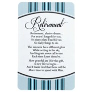 Retirement Pocket Card