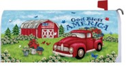 God Bless America, Truck and Barn, Mailbox Cover