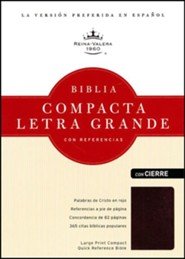 Bonded Leather Red Large Print Book Red Letter Spanish
