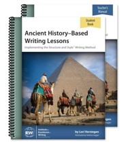 Ancient History-Based Writing  Lessons Teacher/Student Combo  Pack (5th Edition)