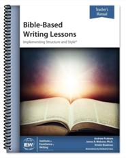 Bible-Based Writing Lessons (Teacher's Manual; 3rd Edition)