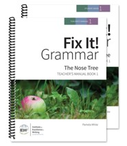 Fix It! Grammar Book 1: The Nose Tree (Teacher/Student Combo)