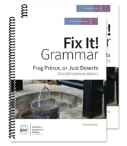 Fix It! Grammar Book 3: Frog Prince, or Just Deserts (Teacher/Student Combo)