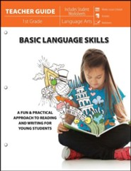 Basic Language Skills: A Fun Practical Approach to Reading and Writing for Young Students Teacher Guide