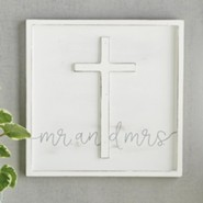 Mr And Mrs Cross Plaque