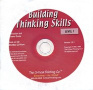 Building Thinking Skills Level 1 Teacher's Book CD