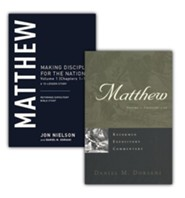 Matthew: 2 Vols. Reformed Expository Commentary w/Matthew:  Vol. 1 (Chapters 1-13) 13-Lesson Study