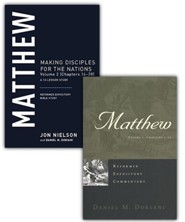 Matthew: 2 Vols. Reformed Expository Commentary w/Matthew:  Vol. 2 (Chapters 14-28)