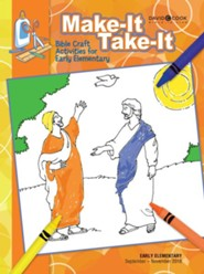 Bible-in-Life: Early Elementary Make It Take It (Craft Book), Fall 2018