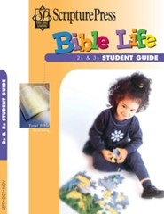 Scripture Press: 2s & 3s Bible Life (Student Book), Fall 2018