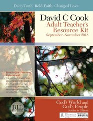 Bible-in-Life: Adult Teacher's Resource Kit, Fall 2018