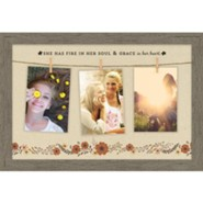 She Has Fire In Her Soul Photo Frame