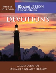 Standard Lesson Resources: Devotions &#174 Pocket Edition, Winter 2018-19