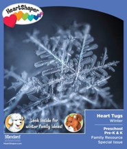 HeartShaper: Preschool-K Heart Tugs (pkg. of 5) Take Home Winter 20-21