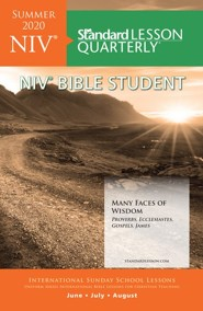Standard Lesson Quarterly: NIV Bible Student, Summer 2020